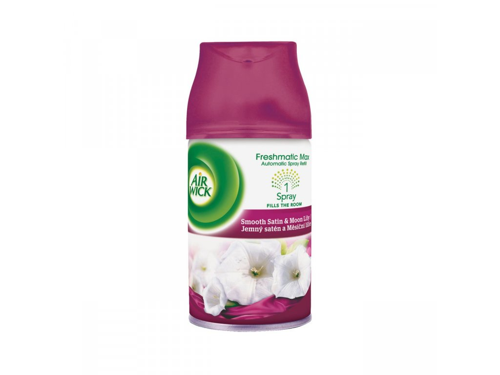 AIR WICK FRESHMATIC life scents jemny saten mesicni lilie 250 ml bc system