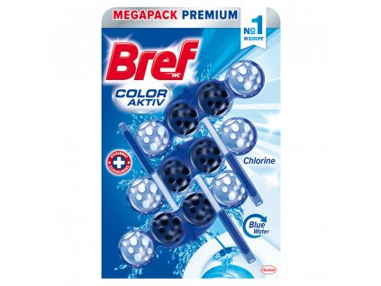 Bref wc blok color active chlorine 3 ks 50 g bc system 1