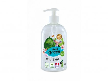 Real green clean mydlo tekute 500g new