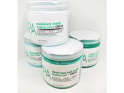 SPA56119 CBD 4 Step Starter Kit 16oz