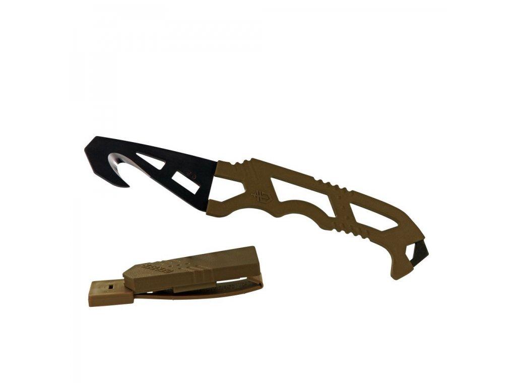 Záchranářský nůž Gerber Crisis Hook Knife TAN499