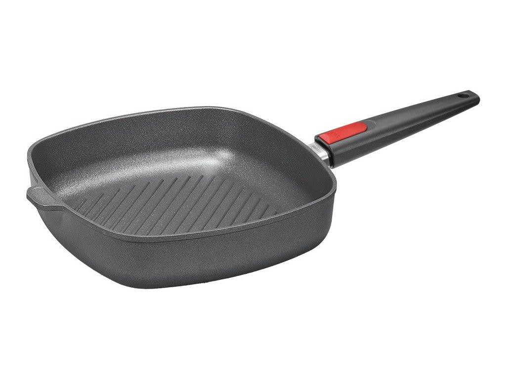 Nowo Titanium grill pánev, odnímatelná rukojeť, 28x28 cm