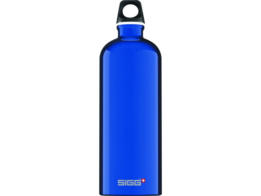 Láhev SIGG Traveller Dark Blue 1 l