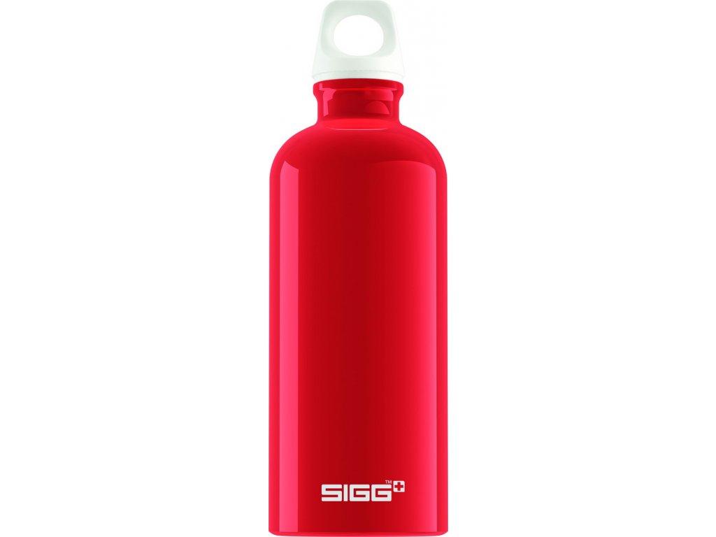 Láhev SIGG Fabulous Red 0,6 l