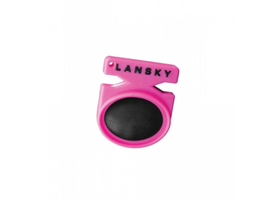 Brousek kapesní Lansky Quick Fix, růžový