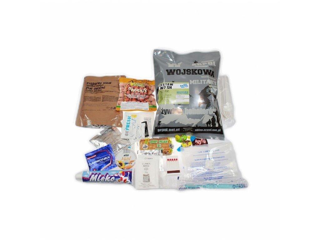 Vojenská potravinová dávka MRE, ARPOL WSH, Set 2