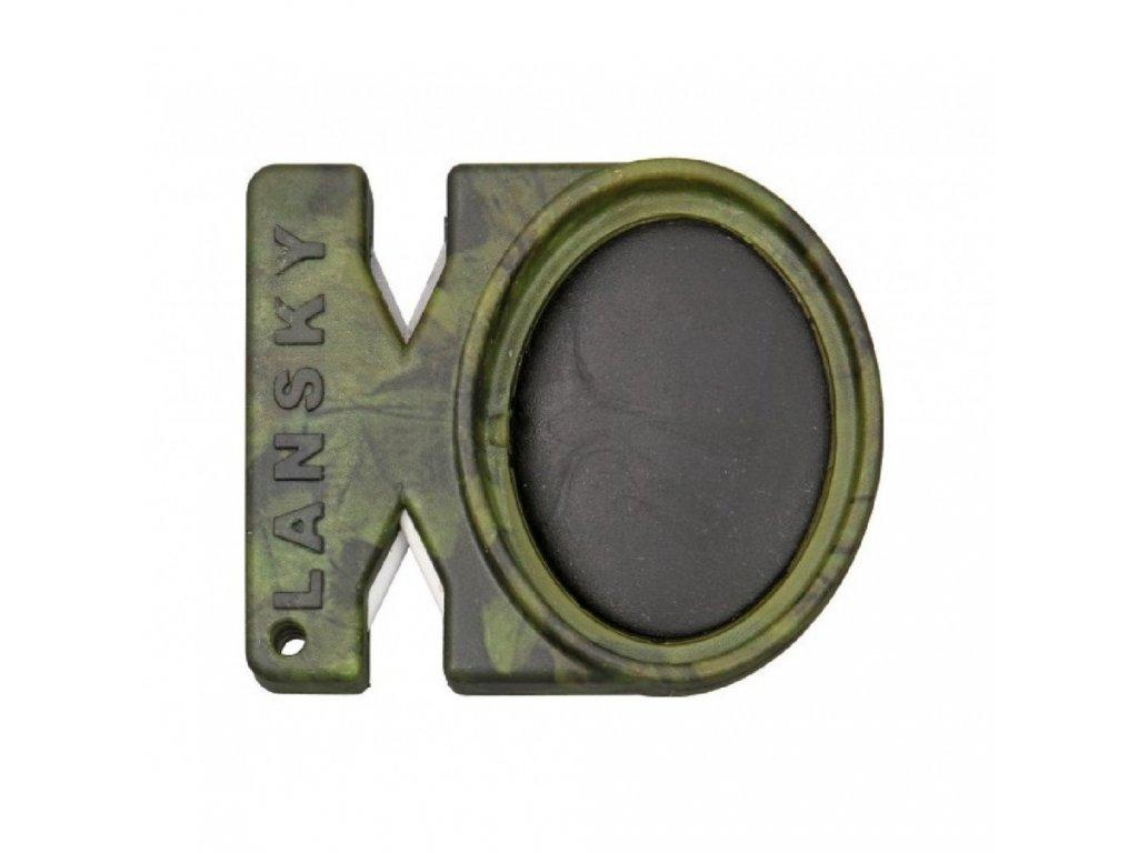 Brousek kapesní Lansky Quick Fix camo, 24 ks v balení