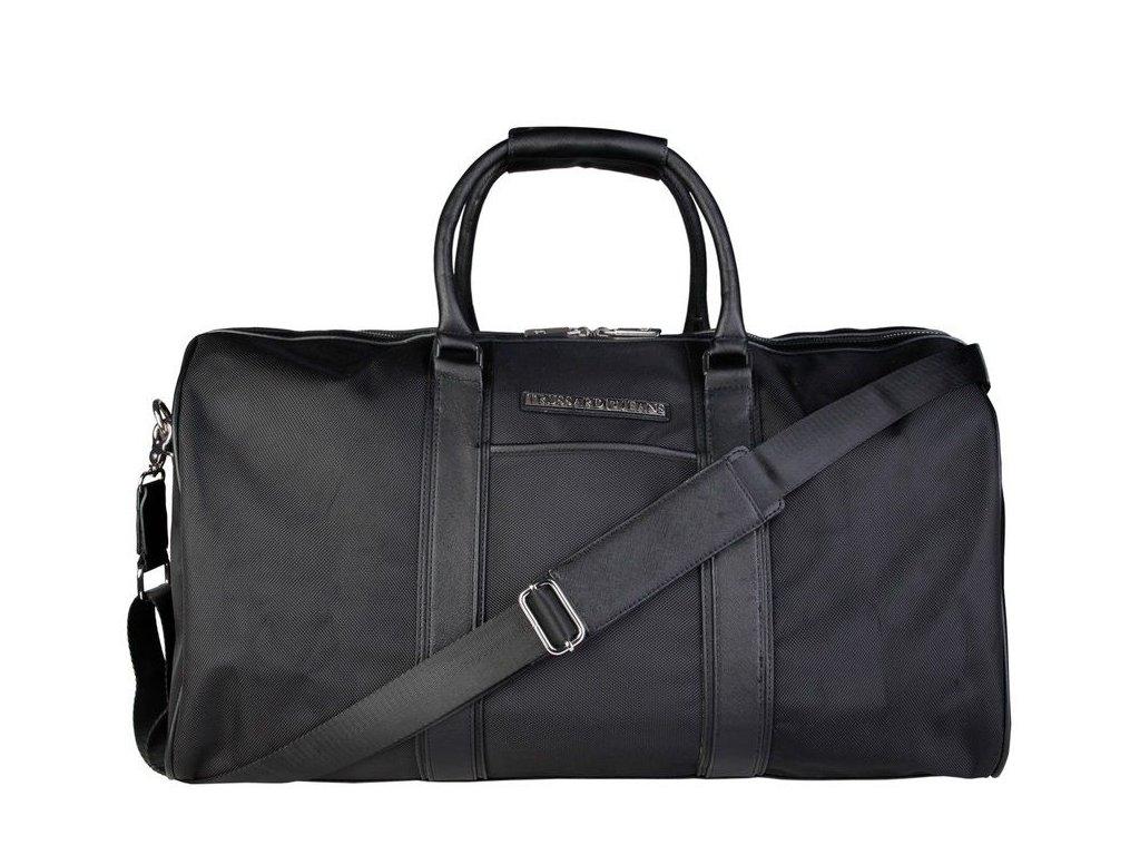 Cestovní taška Trussardi Jeans TJ71B986T, černá