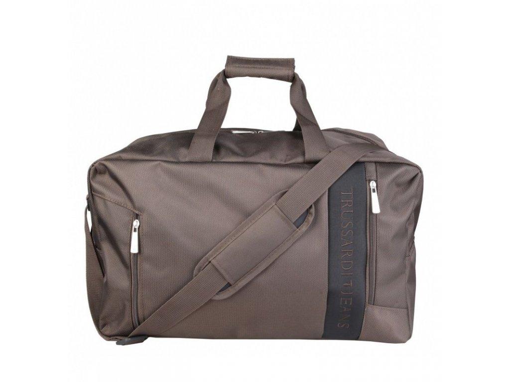 Hnědá cestovní taška Trussardi Jeans TJ71B963T/69
