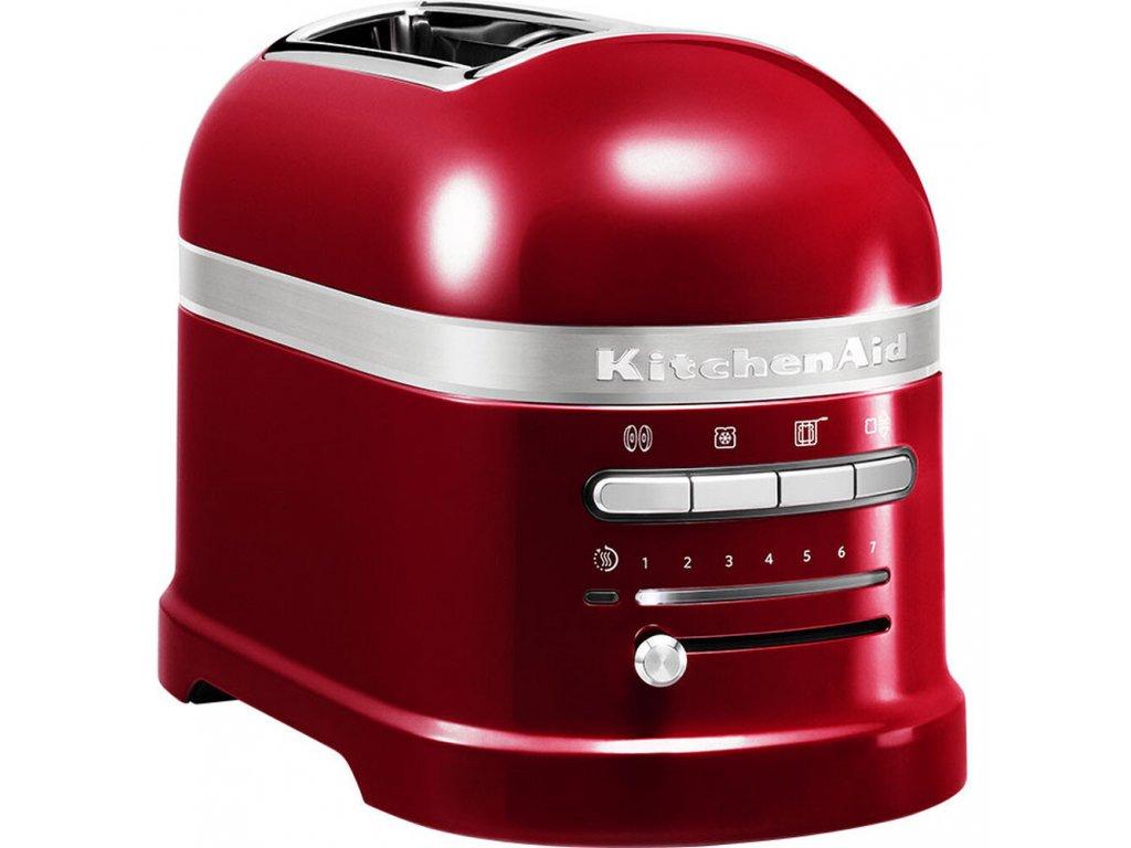 Toastovač Artisan KMT2204, červená metalíza
