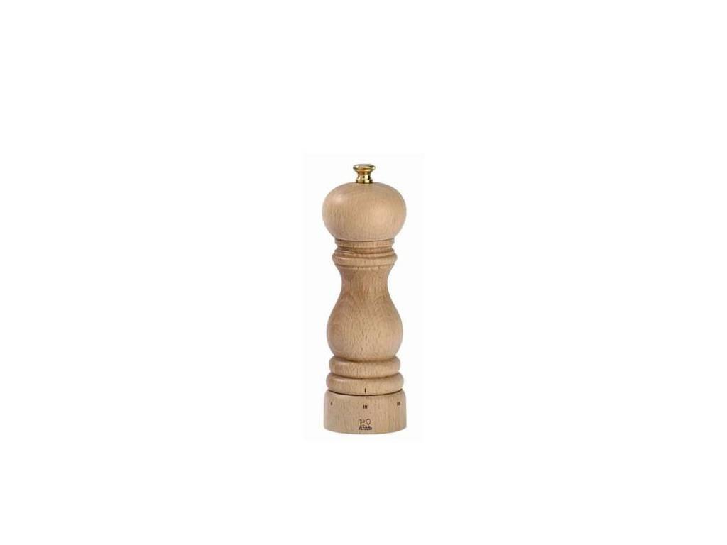 Dřevěný mlýnek Paris na sůl - 18 cm, přírodní