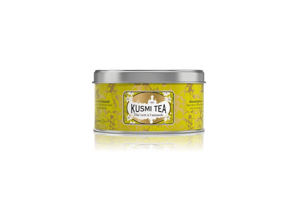 Kusmi Tea Almond Green Tea, plechovka 125g