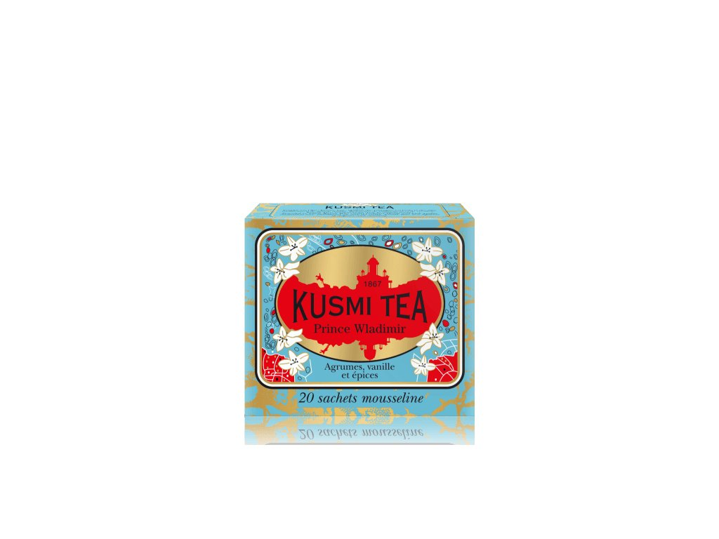 Kusmi Tea Prince Vladimir, 20 mušelínových sáčků 44g