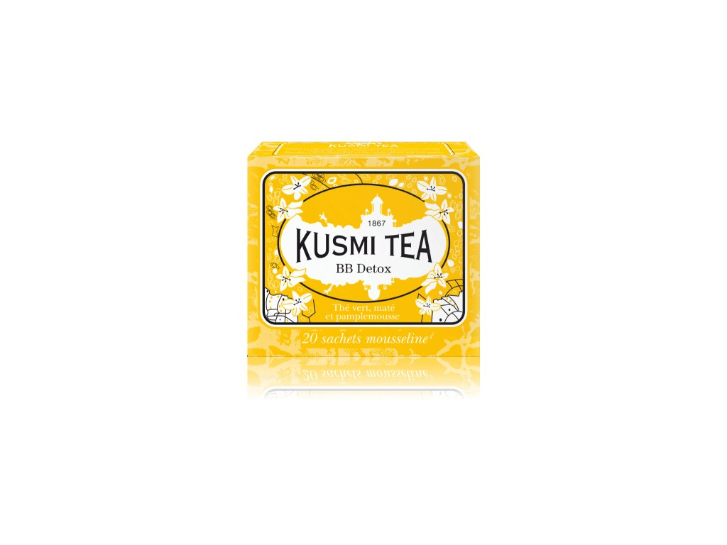 Kusmi Tea BB Detox, 20 mušelínových sáčků