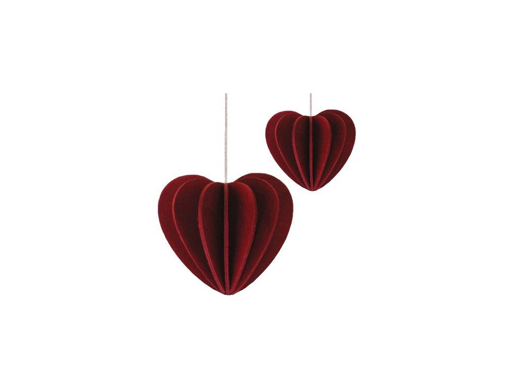 srdce 4,5 a 6,8 cm