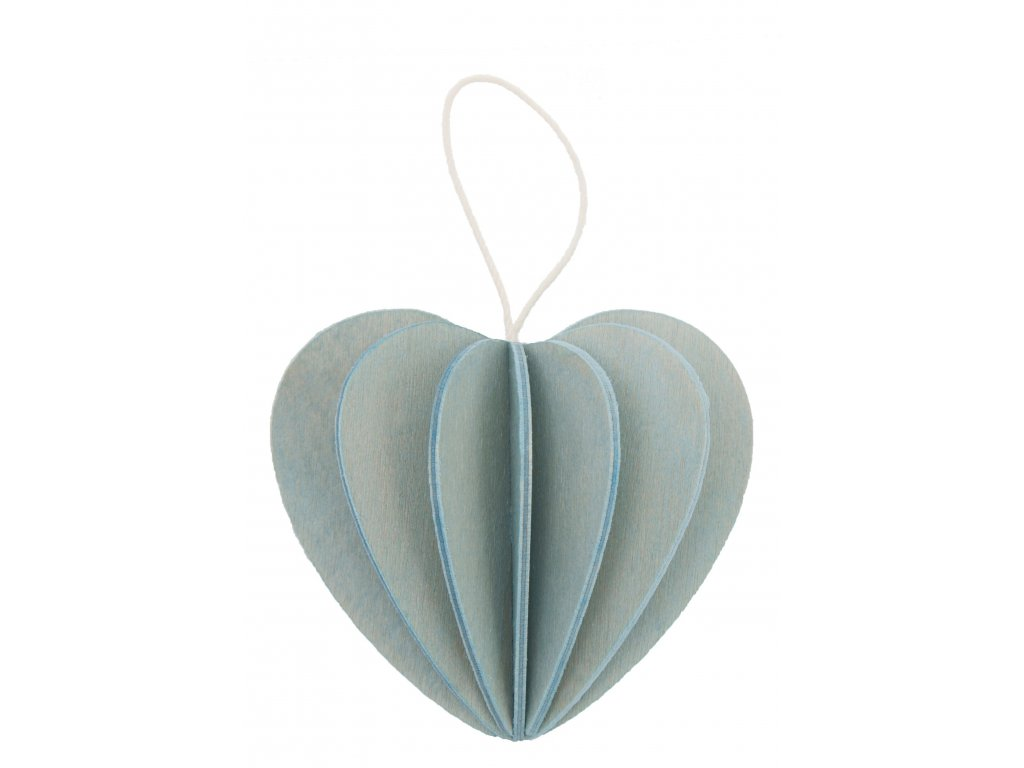 srdce svetle modre