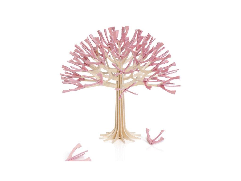 40 lovi rozkvetla tresen 22 cm barva ruzova