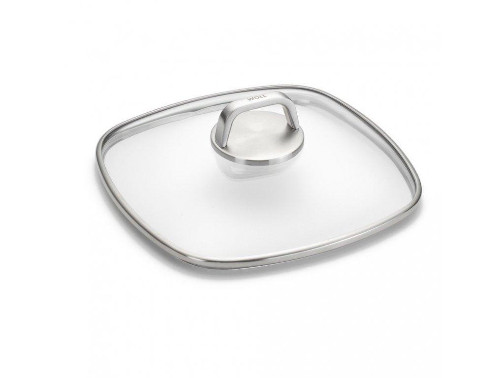 WOLL Diamond Lite Pro skleněná poklice 26x26 cm