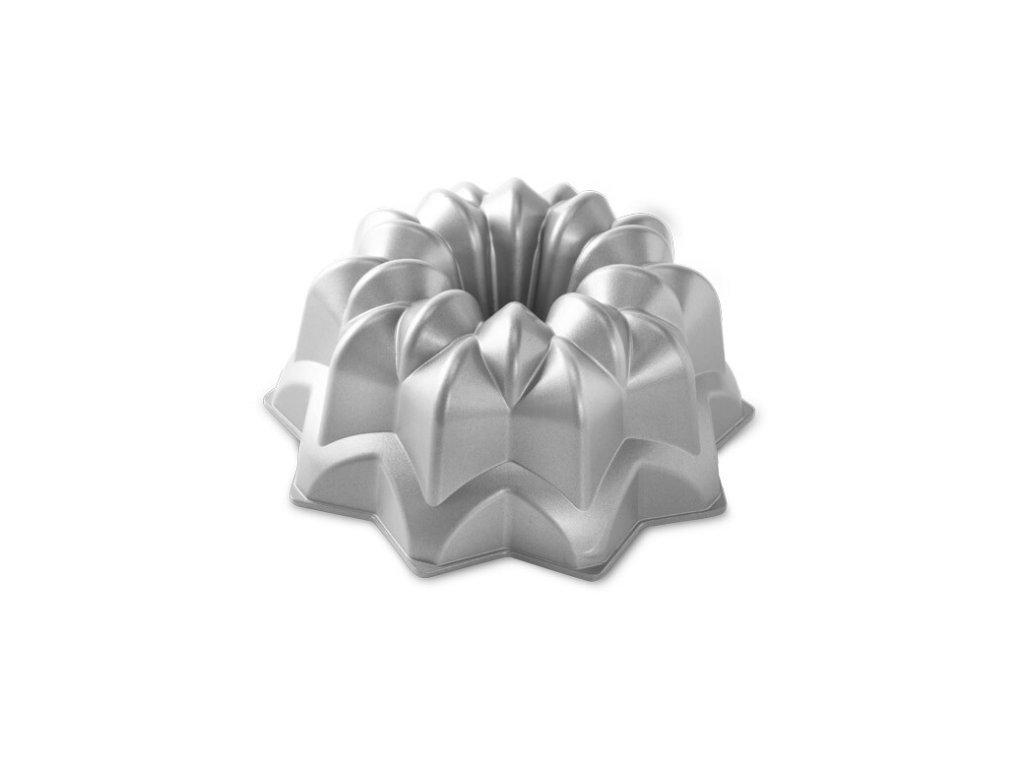 Bábovka Nordic Ware Hvězda 10 cup stříbrná