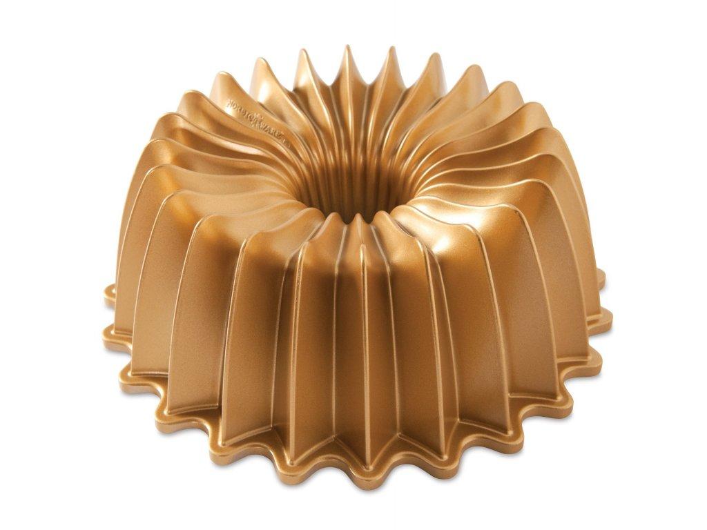 Nordic Ware bábovka Brilliance, zlatá