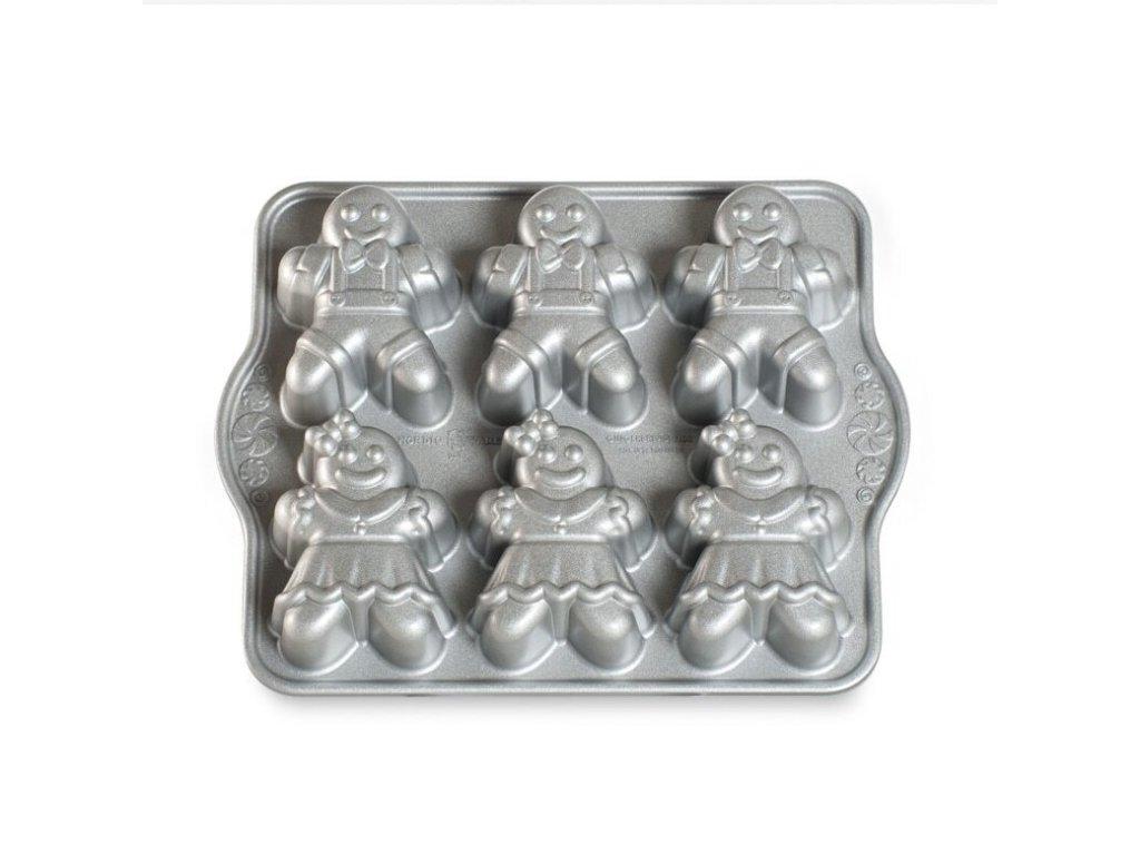 Nordic Ware forma na mini bábovky chlapec a dívka