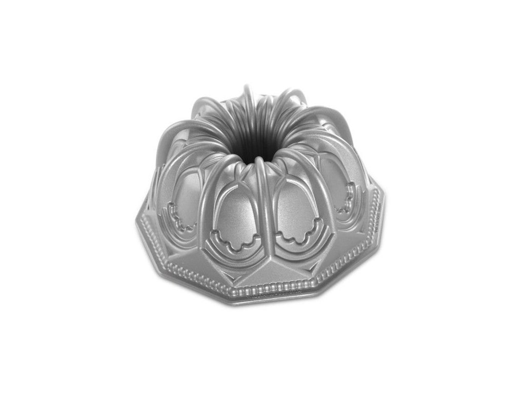 Nordic Ware forma na bábovku Cathedarl, stříbrná