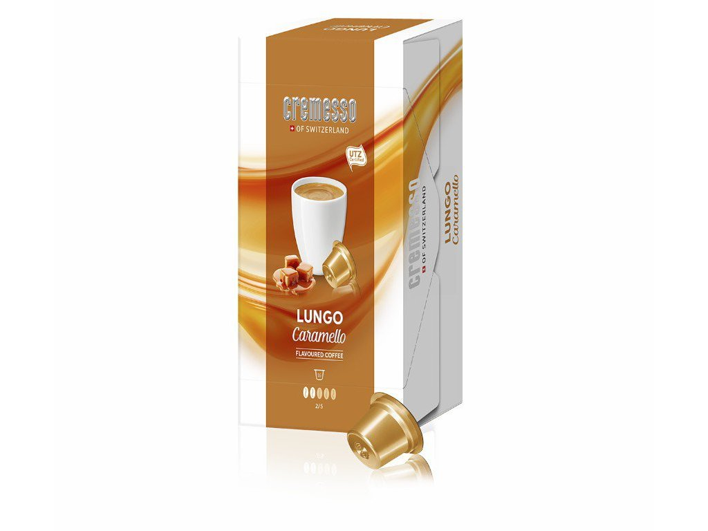 Kávové kapsle Cremesso Caramello 16 ks