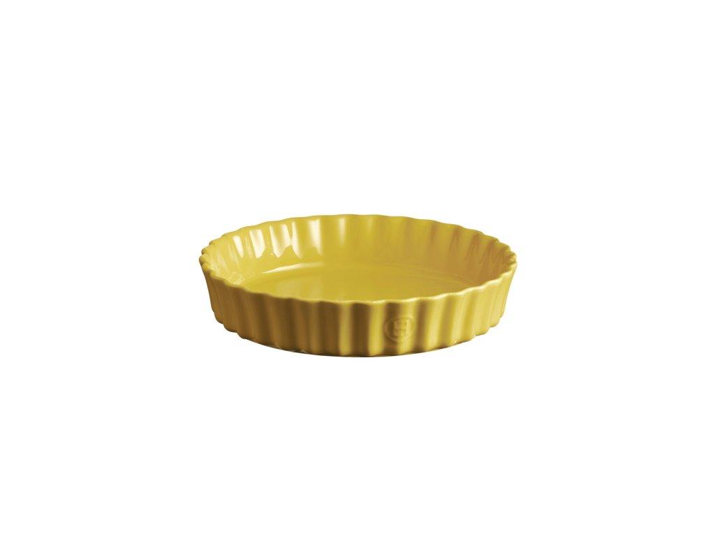 Emile Henry hluboká koláčová forma, Ø 24 cm, žlutá Provence