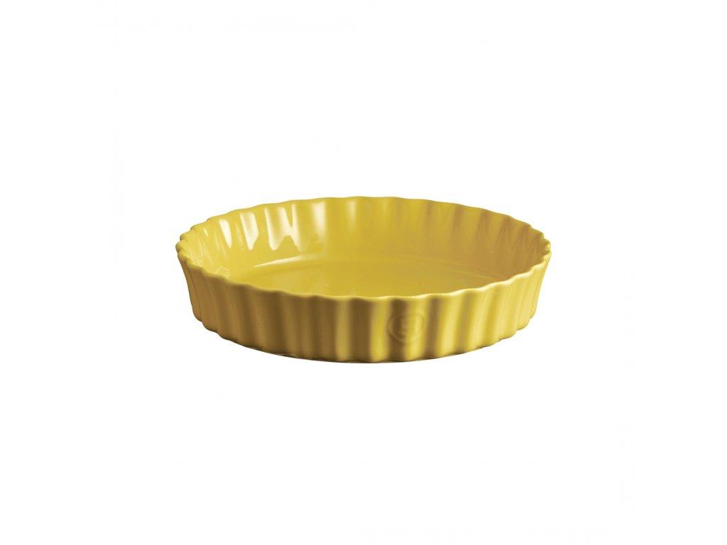 Emile Henry hluboká koláčová forma, Ø 28 cm, žlutá Provence