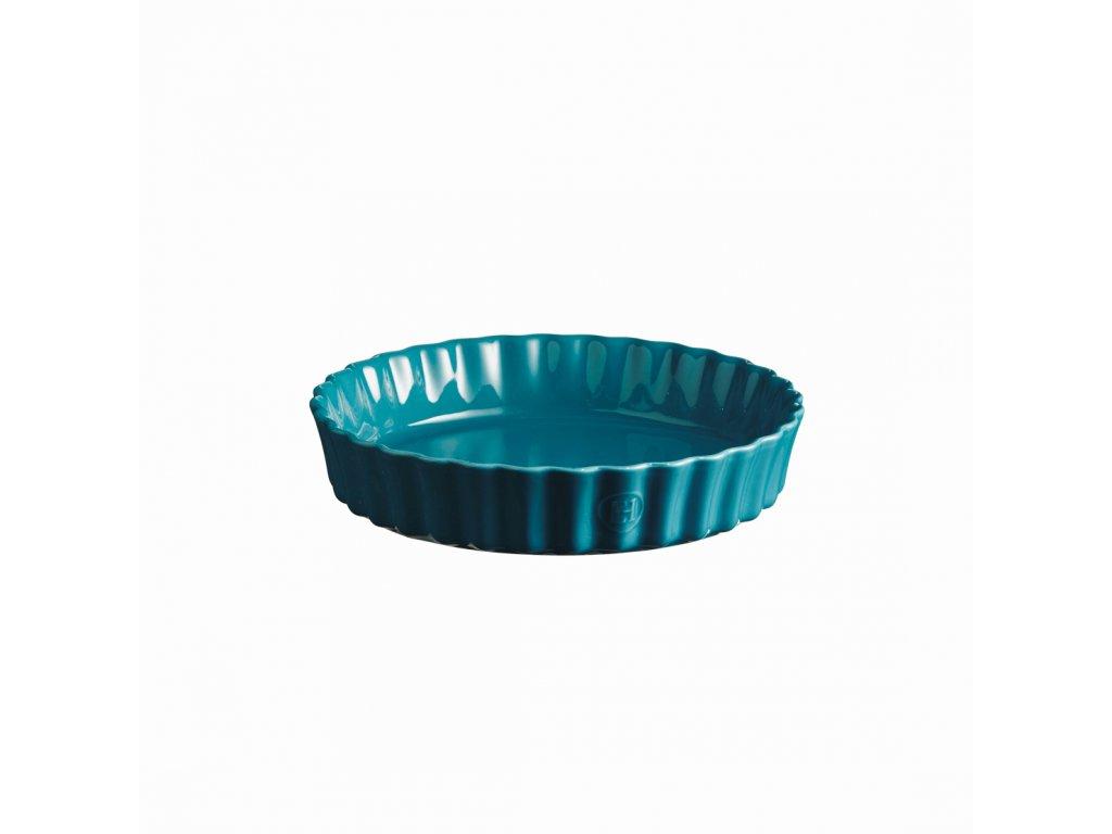 Emile Henry hluboká koláčová forma, Ø 24 cm, modrá Calanque