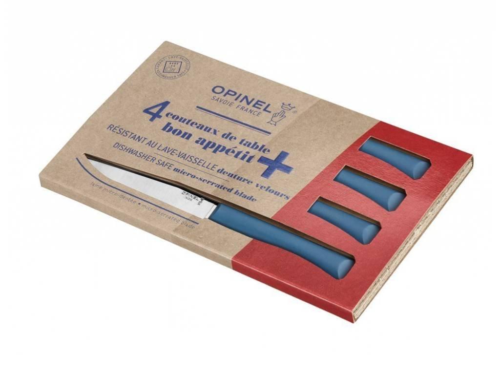 Opinel Bon Apetit příborové nože tyrkysové (4 ks)