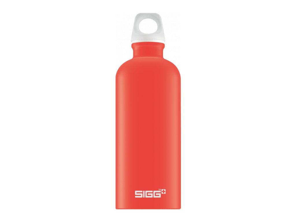 SIGG Lucid Touch červená láhev 0,6 l