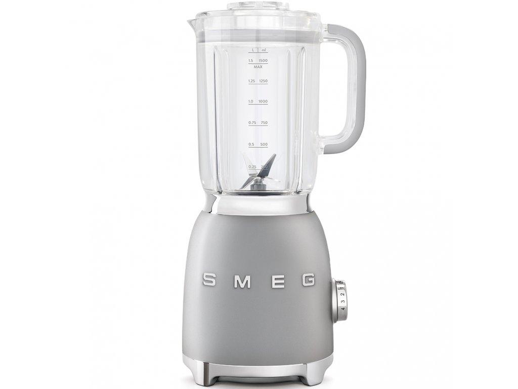 SMEG 50's Retro Style blender 1,5l plastová nádoba stříbrný