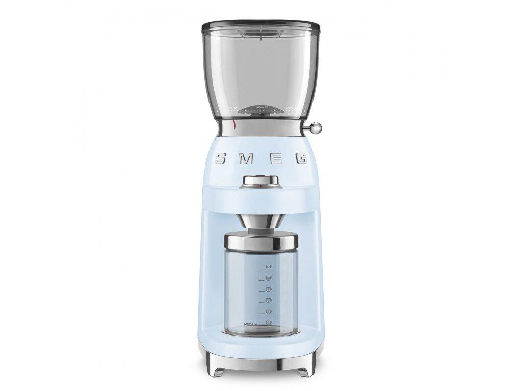 SMEG 50's Retro Style mlýnek na kávu pastelově modrý