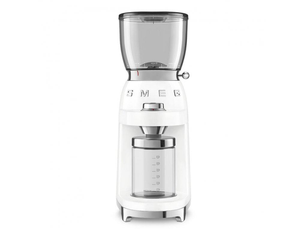 SMEG 50's Retro Style mlýnek na kávu bílý