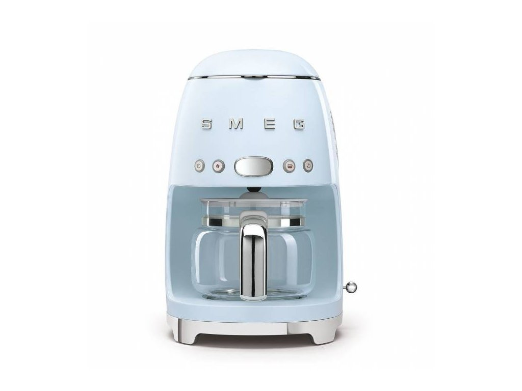 SMEG 50's Retro Style kávovar na filtrovanou kávu 1,4l 10 cup pastelově modrý