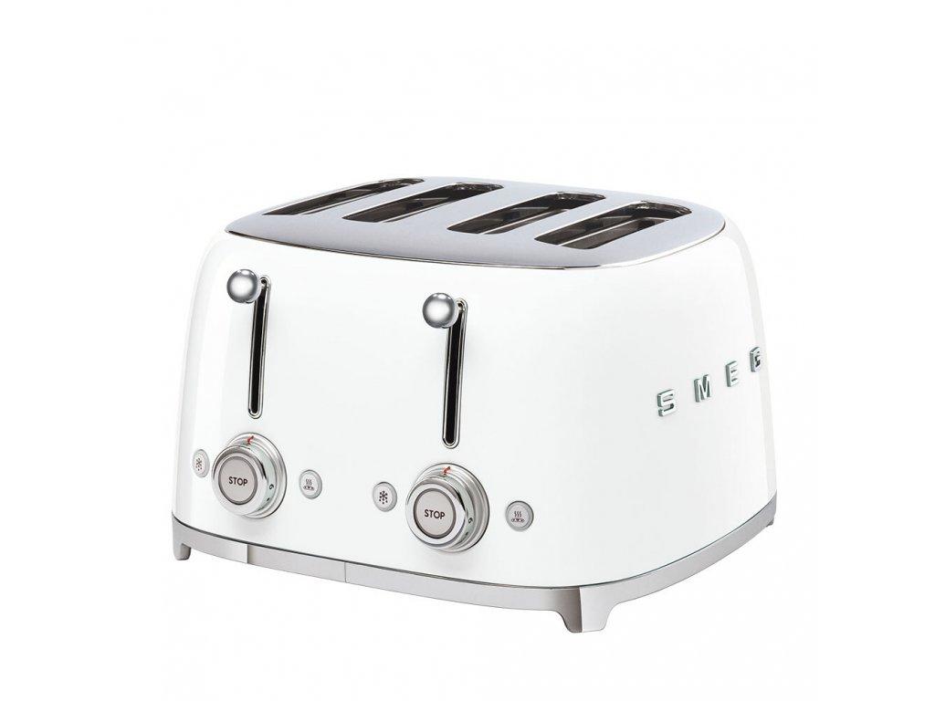 SMEG 50's Retro Style toustovač P4 bílý 2000W