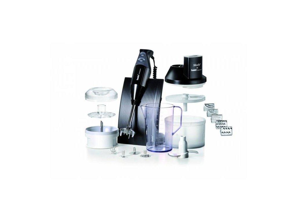 Tyčový mixér Bamix Swissline - SuperBox, černý, 200W