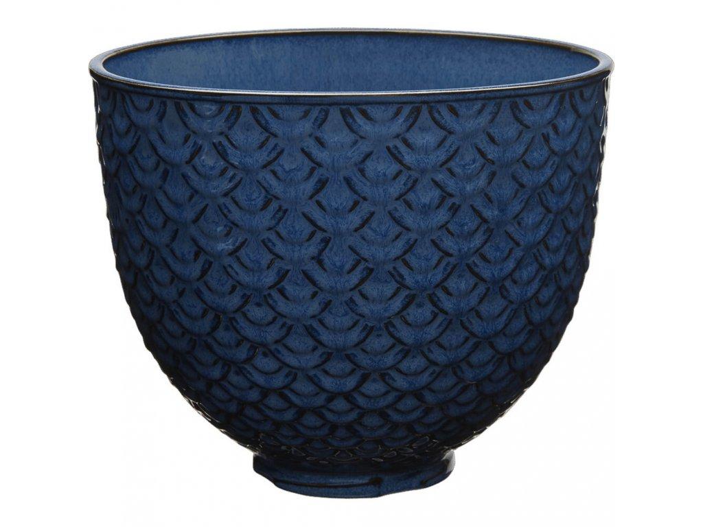 KitchenAid keramická mísa 4,83l orientální tmavě modrá