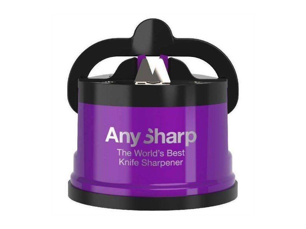 Brousek na nože AnySharp Pro, fialový (metalická barva)