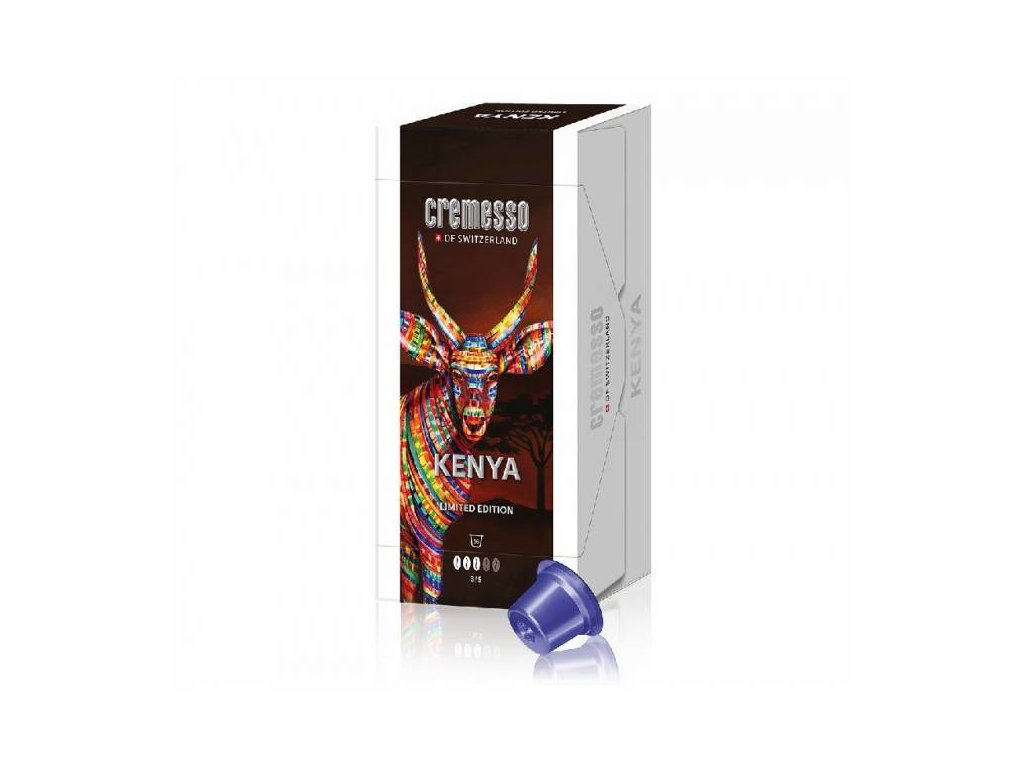 CREMESSO Cremesso Caffee Kenya - lim. Edice 16ks
