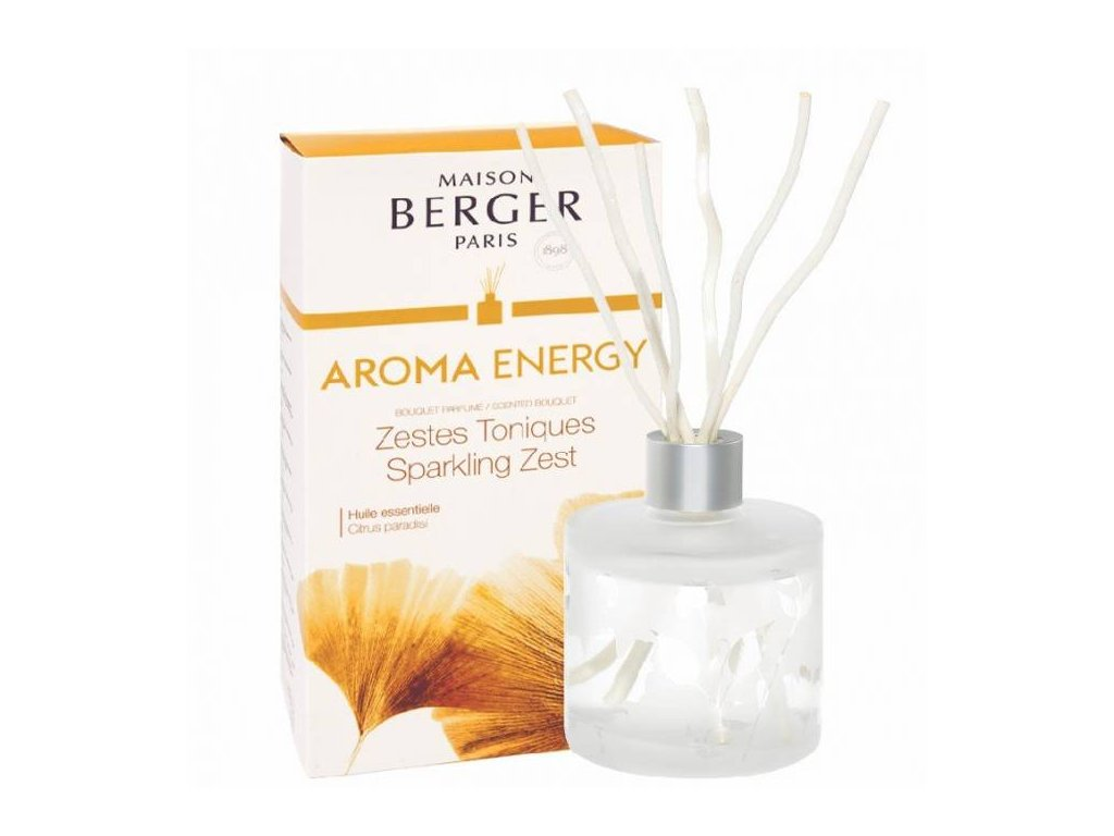 BERGER AROMA Zestes Toniques / Čerstvé tonikum difuzér 180ml