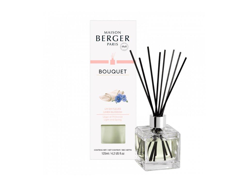 BERGER Lin en fleurs / Lněný květ difuzér kostka 125ml