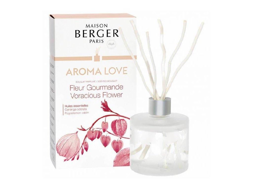 BERGER C22020 Gurmánské květy Aroma Love flakon s difuzérem 180ml