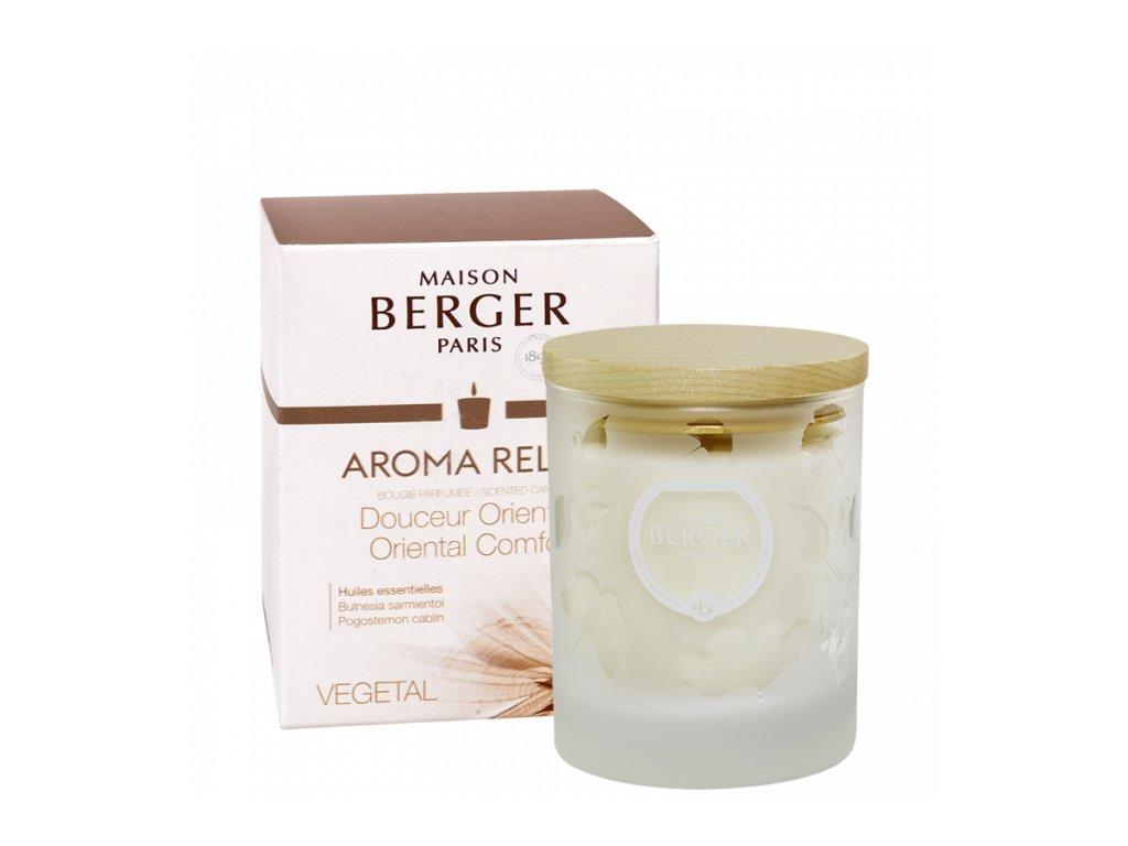 BERGER AROMA Deuceur Orientale / Sladký Orient svíčka 180g
