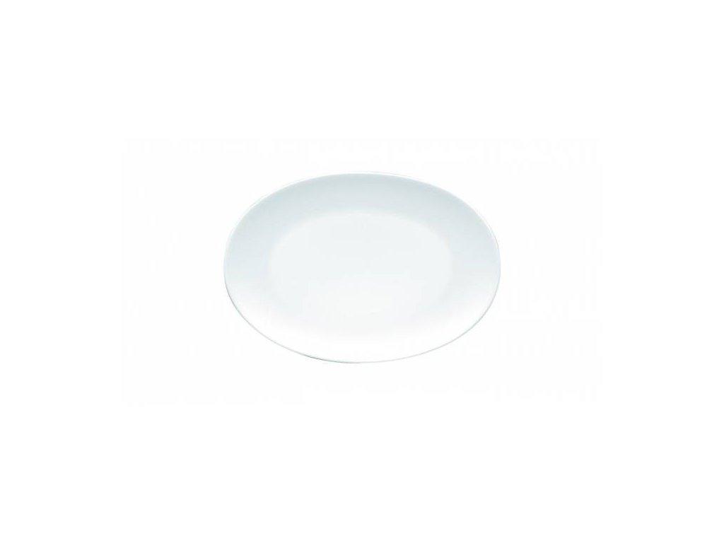 Oválný servírovací talíř Rosenthal TAC White, 18x12 cm