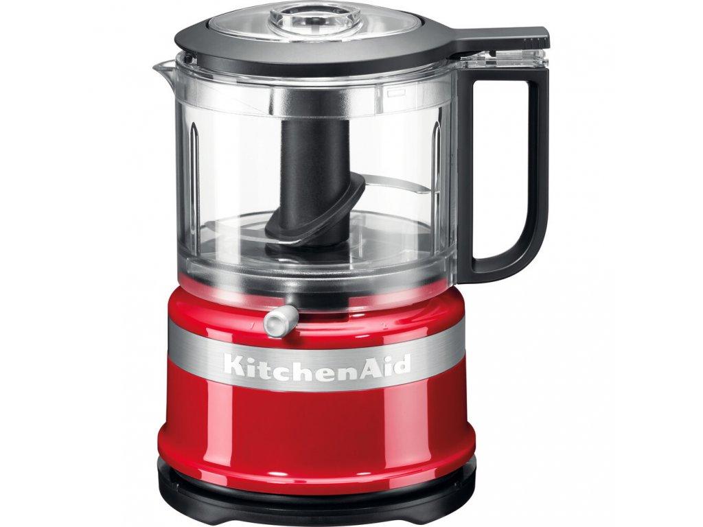 KitchenAid Mini Food Processor 5KFC3516, královská červená, 830 ml