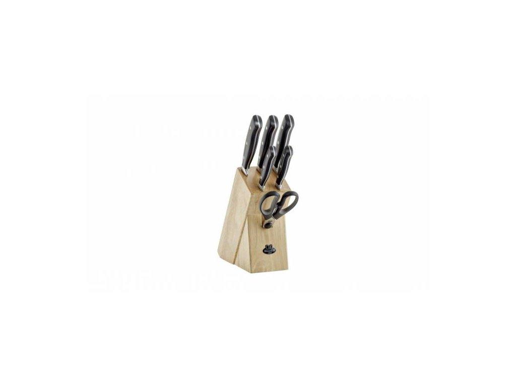 Sada nožů v dřevěném bloku Ballarini Brenta, 7 ks