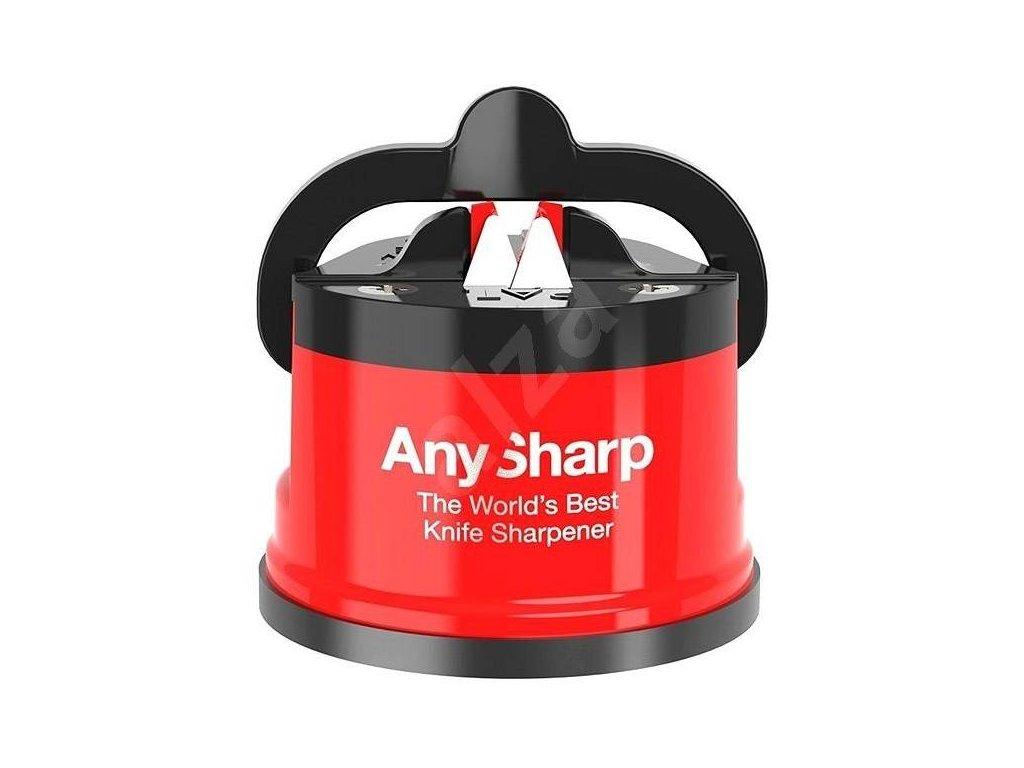 Brousek na nože AnySharp, červený