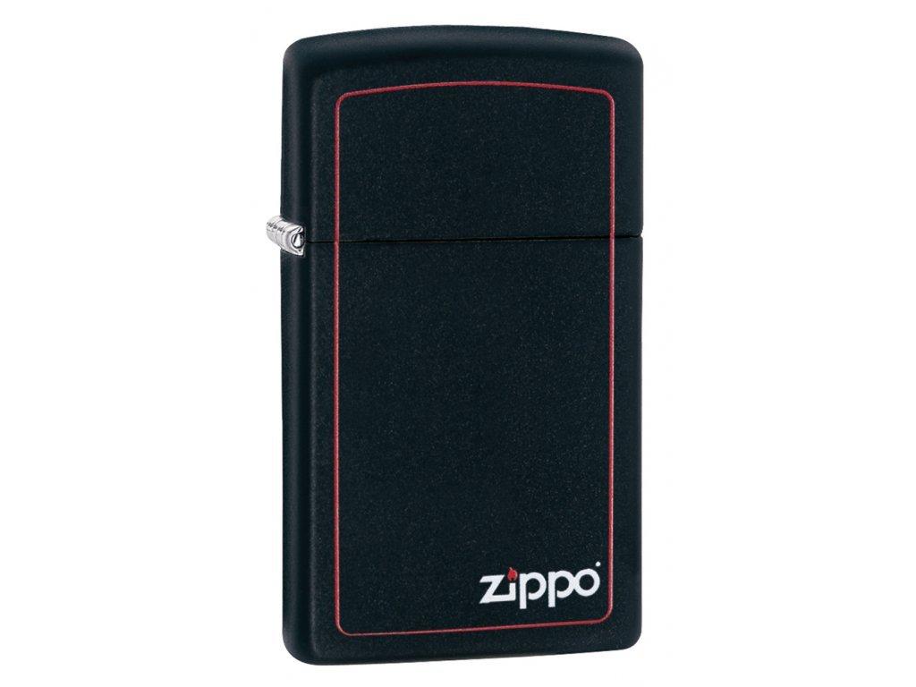 Zapalovač Zippo 26055 Zippo Black Matte Slim